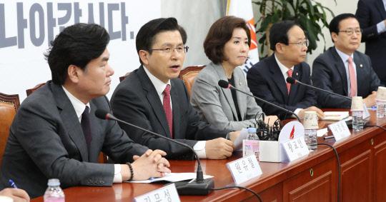 """야당 """"`빈손` 한미회담 핵포기 요구 대북특사 보내라"""""""